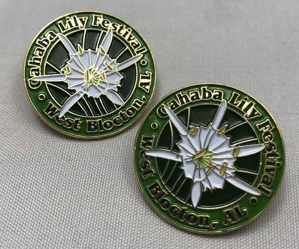 photo of festival pins
